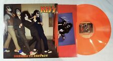 Kiss, Dressed To Destroy Colored Vinyl LP Ltd. Numbered Ed. of 65 Europe