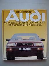Audi 1988 Vier Jahrzehnte Ingolstädter Automobilbau Weg von DKW Audi nach 1945