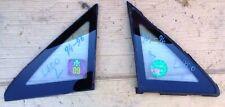 MITSUBISHI L400 1994 96 FRONT SIDE LIGHT QUARTER WINDOW GLASS ASSY PAIR L R USED