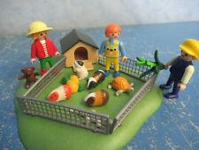 viele Kinder Zoo Tierpark Meerschweinchen Gehege zu 4850 Tiere Playmobil 8161