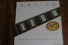 BB KING SIX  SILVER STRINGS VINYL LP