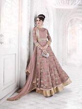 HEAVY WORK BRIDAL PAKISTANI ANARKALI NET SUIT INDIAN WEDDING SALWAR KAMEEZ V1