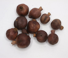 Pre drilled dried whole pomegranate dried pods dried orange slices pine cones