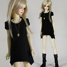 Unisex Irregular Long T-Shirt  for BJD 1/6 1/4 MSD 1/3 Uncle Doll Clothes CWB7