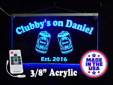 Custom Bar Sign, LED Sign, Pub Sign, Personalized Sign, Family Name Sign-Gift