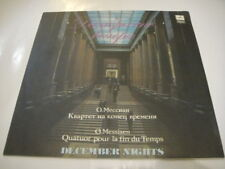 Kagan-Viola, Gutman-Cello, Lobanov. Messiaen: Quatuor pour la fin du temps LP