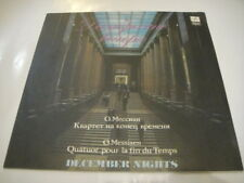 Kagan - viola, Gutman - cello, Lobanov. Messiaen:Quatuor Pour La Fin Du Temps LP