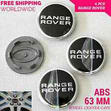 4 pcs 63mm Wheel Center Caps Cover Emblem Badge For Land Rover RANGE ROVER Sport