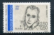 STAMP / TIMBRE FRANCE NEUF N° 2683 ** CELEBRITE / LOUIS ARAGON
