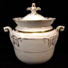Ancien Sucrier en Porcelaine de Paris époque Charles X - Louis Philippe 1er 1830