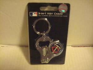 MLB Minnesota Twins  3 In 1 Key chain,Nail Clippers & Bottle Opener (NEW)