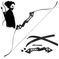 30-50lbs 60'' Metal Riser Right Hand Bow Takedown Recurve Bow Archery Hunting