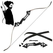 30-50lbs 60'' Metal Riser Takedown Recurve Bow Right Hand Archery Hunting Target