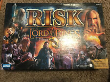 Risk Lord Of The Rings Trilogy Edition 2003 Board Game With Ring Complete