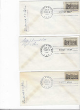 6-1956-HIGHWAY POST OFFICE-MILWAUKEE & OTHER WISCONSIN CITIES-POSTMASTER SIGNED
