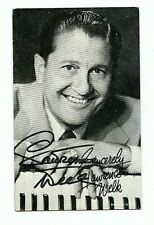 Lawrence Welk AUTOGRAPHED Exhibit Card