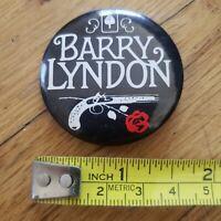 Vintage BARRY LYNDON (Stanley Kubrick, 1975) Movie Promo Pin-Back Button