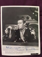 Richard Basehart Voyage To The Bottom Of The Sea Autographed Signed Photo JSA