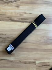 Tiger Claw 100% Cotton Martial Arts Uniform Ranking Elite Gold Black Belt Size 5