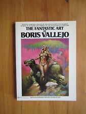 "Book - ""The Fantastic Art of Boris Vallejo"" - 8 3/4"" x 11 3/4"""