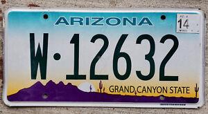 "Green and Purple Arizona ""Cactus Sunrise"" License Plate 2008 Flat Version"