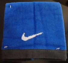 "Nike Essential Towel 100% Cotton Varsity Royal/White/Anthracite Small 14"" x 14"""