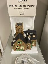 Dept 56 Dickens Village Series,Knottinghill Church,1989,retired- Light up
