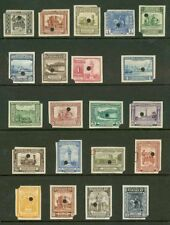 Paraguay 1944-5 Pictorials complete in imperf proofs