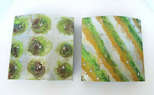 Metallic Art Panels Transition Catherine Foster 11x11 Signed Limited Ed 27/500