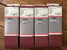 Awuko KT62X Bandas de lija 100 x 1000 mm, 20 unidades, grano 80