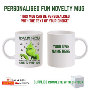 Personalised Coffee Mug Novelty Gift Christmas Fuckoffee Funny Mug