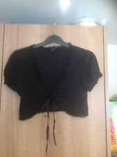 Tie Cotton No Pattern Regular Jumpers & Cardigans for Women
