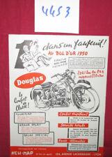 N°4453  / prospectus  NEW-MAP : distributeur de la moto Douglas du bol d'or 1950