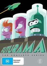 Futurama Season Series 1+2+3+4+5+6+7+8 DVD box set New & Sealed 1 - 8 R4