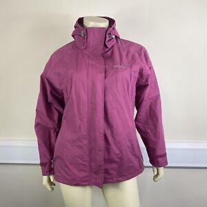 Trespass Ladies Pink Purple Waterproof Windproof Windbreaker Active Jacket UK XL