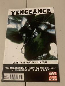 "VENGEANCE #6   America Chavez   Gabriele Dell'Otto ""Dr. Doom"" cover   2012  "