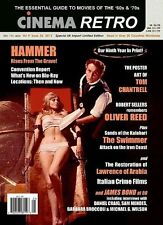 Cinema Retro #25 Bond a 50 ,Hammer Películas, Oliver Reed, Lorenzo de Arabia