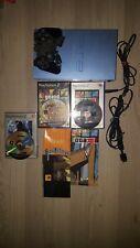 Lot PlayStation 2 Bleu Édition Jeux GTA 3 Et San Andreas + (Teken 4 sans notice