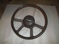 SUZUKI SAMURAI 2nd GEN COMPLETE STEERING WHEEL -FROM 90-91 JL  FITS TO 95& SJ410