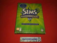 LES SIMS 3 INSPIRATION LOFT EDITION ANNIVERSAIRE PC MAC DVD-ROM PAL COMPLET