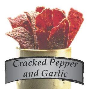 Jerky Spice Works 3 Pack Cracked Pepper & Garlic Beef Jerky Seasoning By Nesco