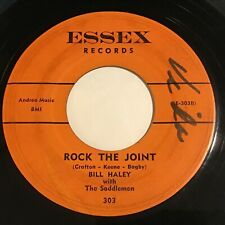 Bill Haley with The Saddlemen: Rock The Joint / Icy Heart 45 - Rockabilly