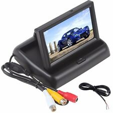 "4.3"" TFT LCD Car Rear View Parking Monitor Auto Backup Screen Rearview Kit UK"