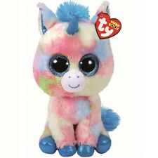 Ty Beanie Babies 37261 Boos Blitz the Blue Unicorn Boo Buddy
