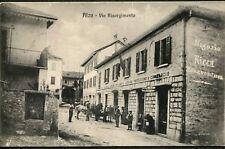 Alzo - Via Risorgimento - Viaggiata (702)