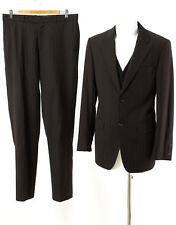 RENE LEZARD 3 tlg. Anzug Gr. 98 (M Schlank) Wolle Sakko Hose Business Suit