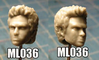 """ML036 Custom Cast head use with 6"""" ML Super Heroes Legends action figures"""