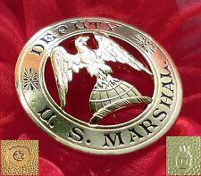 #/histórico insignia-Deputy U.S. Marshal