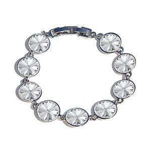 Bella Round Crystal bracelet  made with SWAROVSKI® Crystals