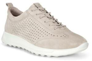 Ecco Flexure Perf Sneaker Grey Women's